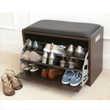 shoes furniture. Captivating Furniture For Home Interior Decoration With Cool Shoe Rack : Attractive Picture Of Black Fabric Shoes L