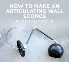 articulating wall sconce 4 how to make an articulating wall sconce frankfort articulating wall light uk