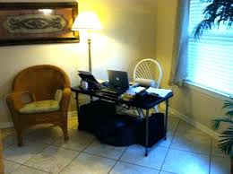makeshift office. Makeshift Table Cool Desk In Fl Cottage Rental Contemporary Office Tablecloth O
