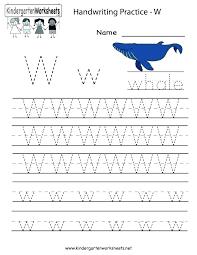 Free Sentence Writing Practice Worksheets Kindergarten Handwriting ...