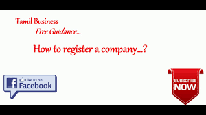 How To Register A Company Company Registration In Tamilnadu New Company Registration In Tamilnadu Tamil Business Ideas