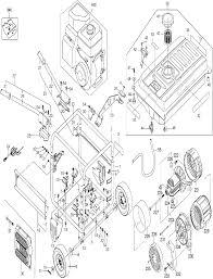 Buy dewalt dg6000 heavy duty 6000 watt gas generator replacement dewalt dg6000 parts schematic
