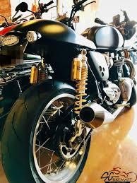 used triumph thruxton r bike