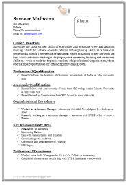 Gallery Of Cv Resume Format Download