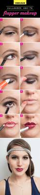 how to flapper makeup
