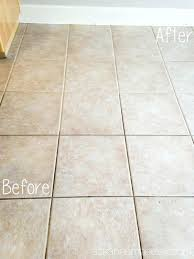 how to clean tile grout clean tile grout vinegar baking soda