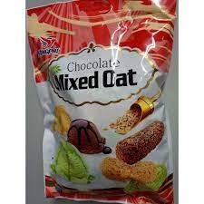 Bánh Yến Mạch 7 màu MIXED OAT Chocolate / 400g tại Hà Nội