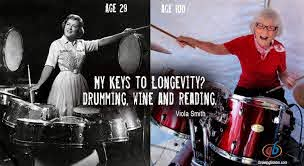 Meet Viola Smith, the World's Oldest Drummer: Her Career Started in the  1930s, and She Played Until She Was 107 | Open Culture