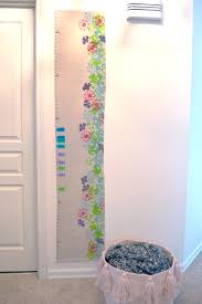 Fabric Growth Chart Tutorial Diy Painted Canvas Growth Chart Create Play Travel