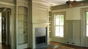 wainscoting wall treatments crown moulding doors windows fireplace mantels