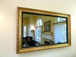 framed mirror id like mine in thanks our house mirror frame shown tv that looks like premier vanishing mirror television