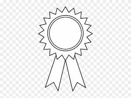 Award Ribbon Clipart Outline Award Ribbon Clipart Black And White