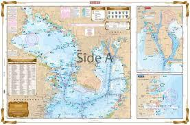 Noaa Chart 11416 Waterproof Charts Tampa Bay Area Florida Inshore Fishing Nautical Marine Charts