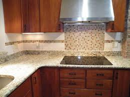 Tile Backsplashes With Granite Countertops Impressive Kitchen Attractive Tile Backsplash Ideas Small Kitchen With Brown