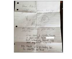 Breakup Letters These Children's Breakup Letters Show How Savage Kids Are These Days ...