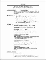 Insurance Agent Resume Insurance Agent Resume objective qualifications