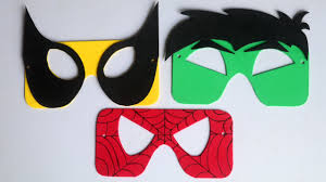 Animated movies like the incredible hulk never fail to includes peter parker, lego spiderman, spiderman homecoming, and spiderman mask colouring. How To Make Superhero Mask For Kids Spiderman Mask Batman Mask Hulk Mask Youtube