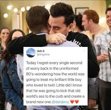 The actor has worked with his son, daniel. This Tweet By Dan Levy S Mother Says It Raising Wildflower Kids Facebook