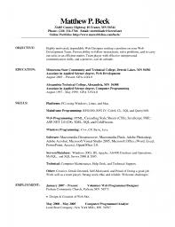 Simple Resume Templates Free Resume Example And Writing Download