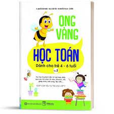 Sách - Ong Vàng Học Toán Dành Cho Trẻ 4-6 tuổi tập 2 - Học Kèm App Online