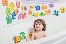 baby loovi educational bath toys for toddlers one of the biggest foam baby bathtub toys foam alphabet letters and animals 26 puzzles 52 items safe and