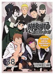 Naruto Shippuden Uncut Set 38: Amazon.de: DVD & Blu-ray