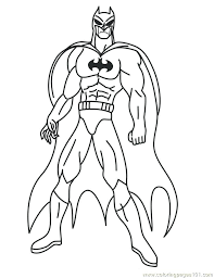 Superhero Coloring Pages Printable Lego Marvel Superheroes Batman