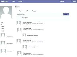 Free Facebook Page Template