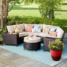 Harrison Wicker Patio Furniture Collection Threshold™ Tar