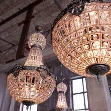 retro vintage oval ball charming royal french empire style big led crystal chandelier lamp lights for hotel church dining room chandelier chandelier