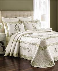 CLOSEOUT! Martha Stewart Collection Abbey Garden Bedspreads ... & Martha Stewart Collection Abbey Garden Bedspreads (Created for Macy's) Adamdwight.com