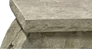 concrete countertop edge form chiseled granite