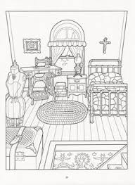 Small Picture Free coloring page coloring victorian interior style Coloring
