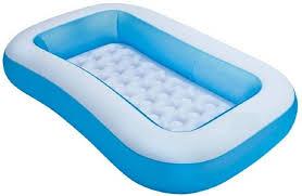 Bestway Inflatable 5 Feet Rectangular Pool Tub Baby Bath Seat By ...