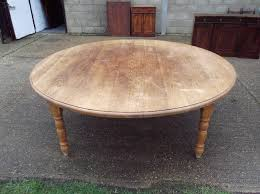 large antique oak round table huge 7ft diameter solid oak round dining table to seat 12 people comfortably