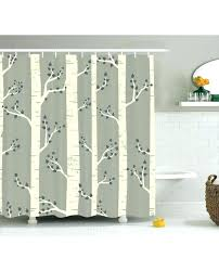 birch shower curtain birch shower curtain gray shower curtain birch trees nature print for bathroom birch bark shower birch shower curtain white birch