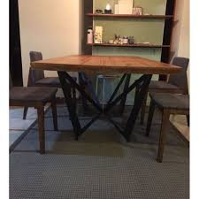 wrought iron and wood furniture. Wrought Iron Wood, Loft Industrial Style Retro Dining Table, Home \u0026 Furniture, Tables Chairs On Carousell And Wood Furniture R