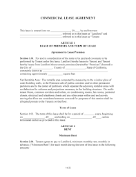 Commercial Lease Free California Commercial Lease Agreement PDF Word Do It 24
