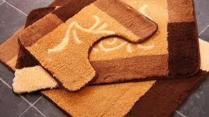orange bath rug set brilliant bathroom sets with elongated lid cover 9