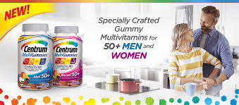 Vitamins A To Z Chart Complete Multivitamins Centrum Micronutrients
