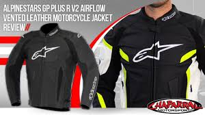 alpinestars gp plus r v2 airflow vented leather motorcycle jacket review