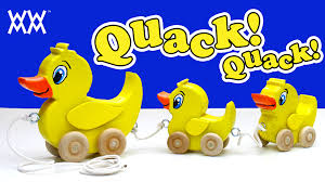 Making Wooden Games Make a wooden duck pull toy Classic toddler fun YouTube 74