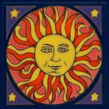 ceramic tile art patterns. Brilliant Ceramic Sun Magnet By PacificBlueTile On Etsy 400 Throughout Ceramic Tile Art Patterns Pinterest