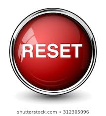 Reset Button Stock Vector (Royalty Free) 312305096