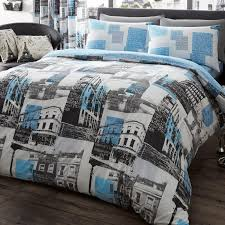gaveno cavailia london to paris duvet cover set in blue free delivery next day select day up to 50 off rrp