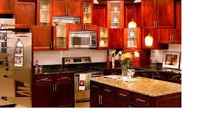 Cherry Cabinet Kitchens Cherry Cabinet Kitchen Remodel Northern Home Improvement
