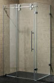 frameless shower door shower doors frameless sliding shower door cost