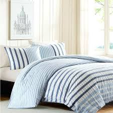 blue striped bedding sets blue and white striped comforter sets