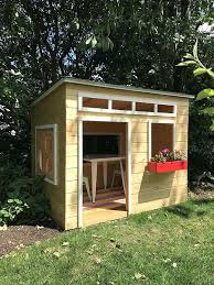 easy to build playhouse plans free an outdoor wood inspired by blogger exterior