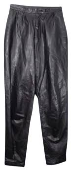 wilsons leather wilsons vintage slim leg skinny black leather pants